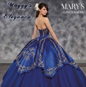 9975f45543b Mary s Bridal Dresses - Mary s Quinceanera Charro style Dress